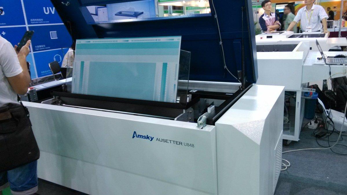 Amsky Ausetter 800 Mesin Produk Printer