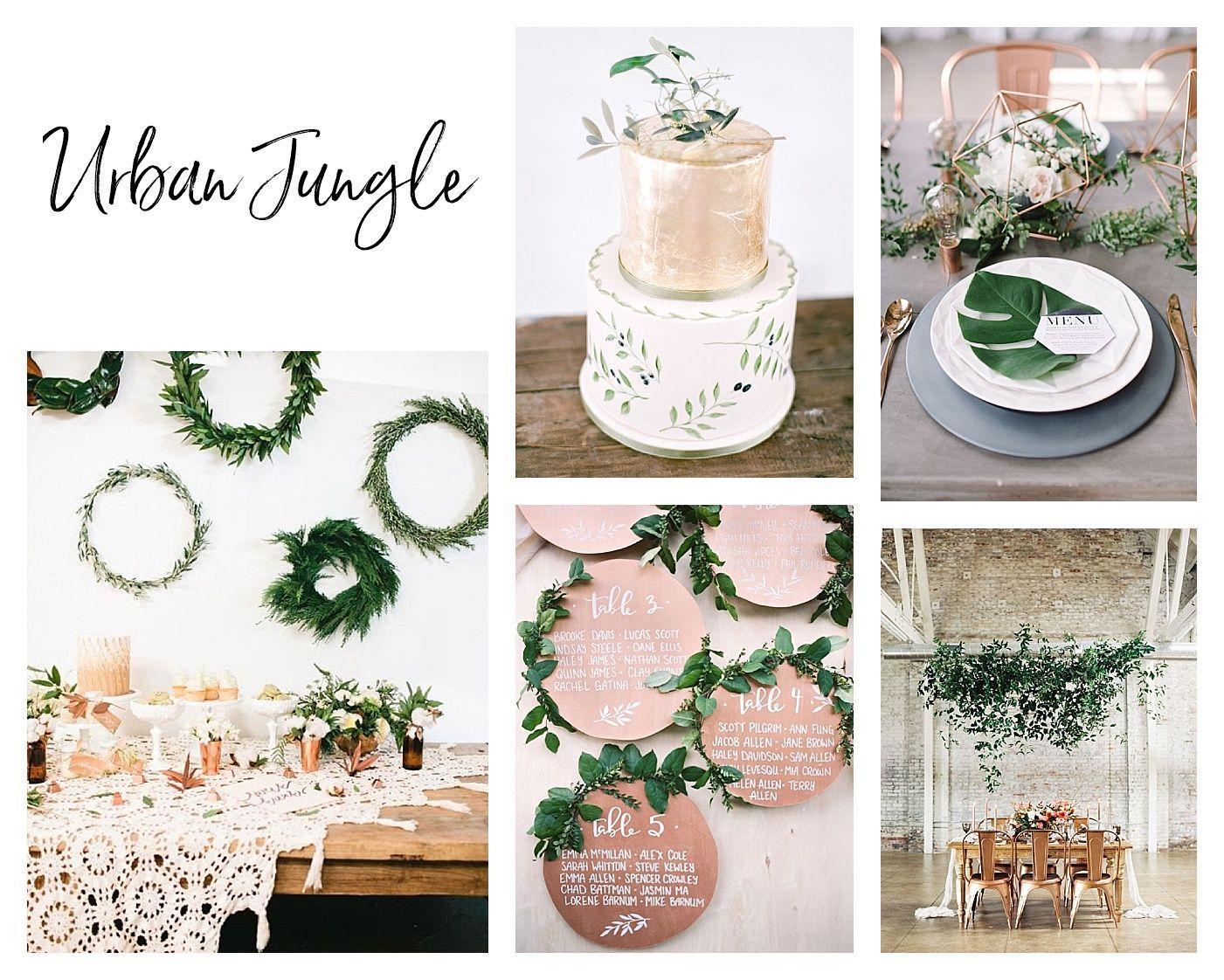 Hochzeitstrends 2017: Greenery und Grüne Hochzeiten bis zu Drip ...
