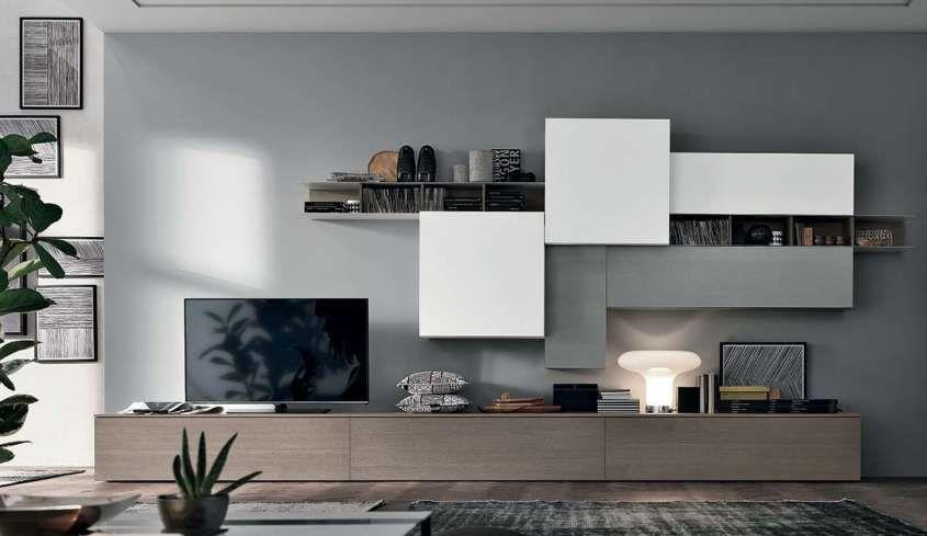 Pareti attrezzate 2016 arredamento soggiorno for Decorazioni per pareti soggiorno