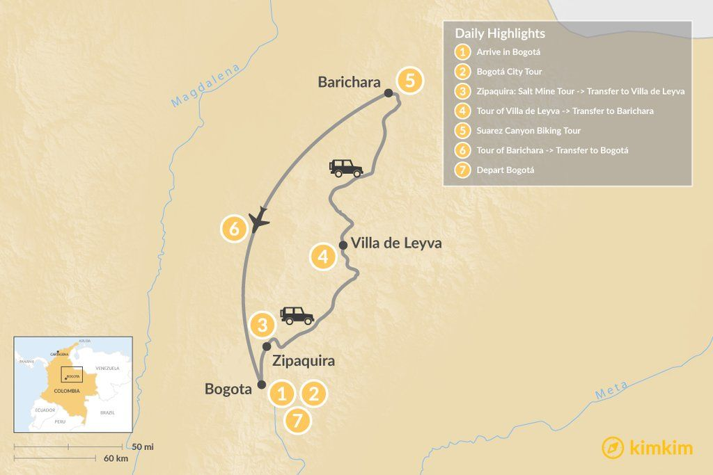 How To Get From Bogota To Villa De Leyva