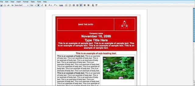 Google Docs Flyer Template -   wwwvalery-novoselskyorg/google