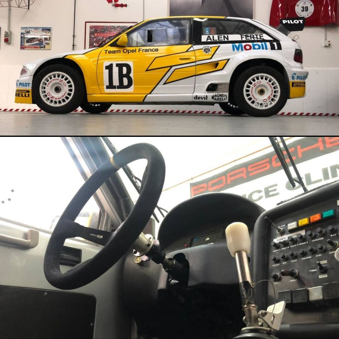 An Official Opel Motorsport Ex Alén This 1994 Opel Astra 3 0 V6 Presented In Top Condition Was Built By Snobeck Racing For Opel Moto Opel Racing Race Cars
