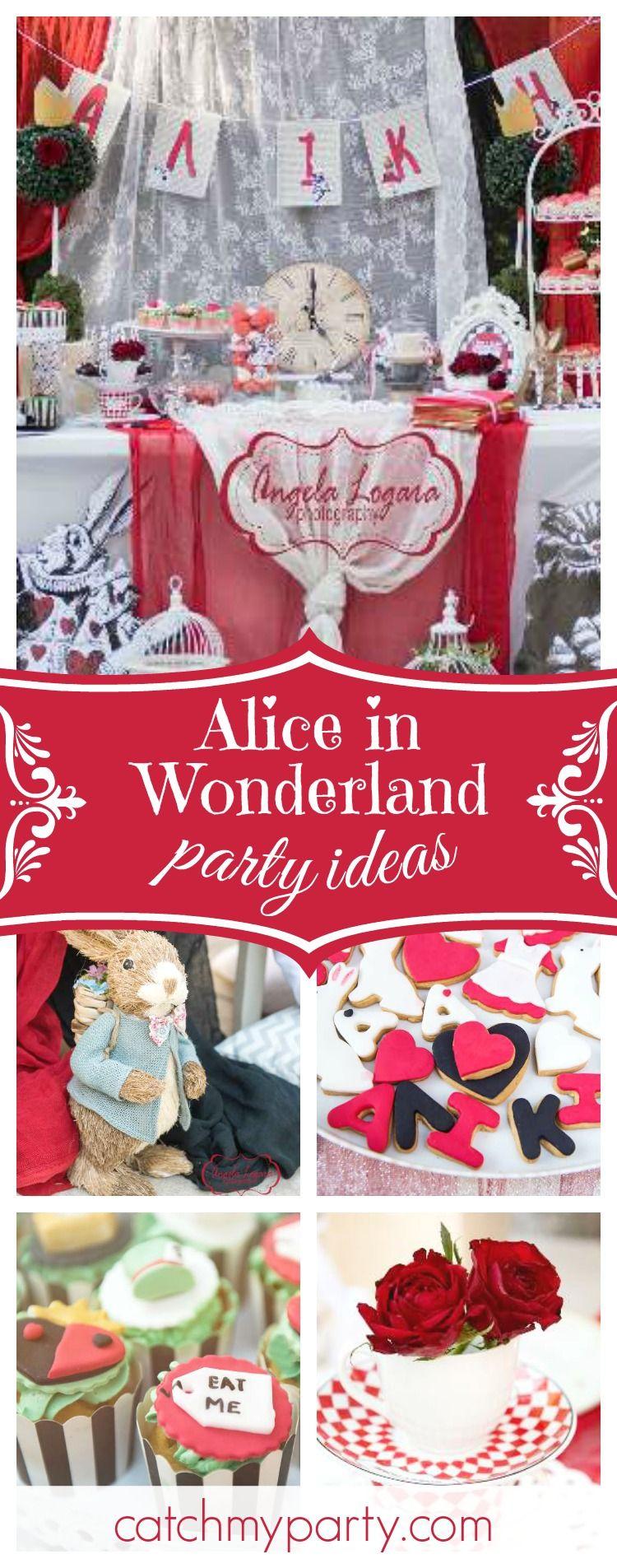 Alice in Wonderland Baptism Alice in
