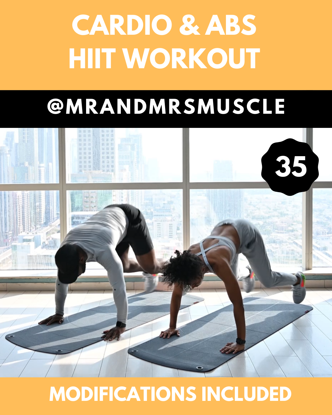 Cardio & Abs HIIT Workout  #goodcoreexercises