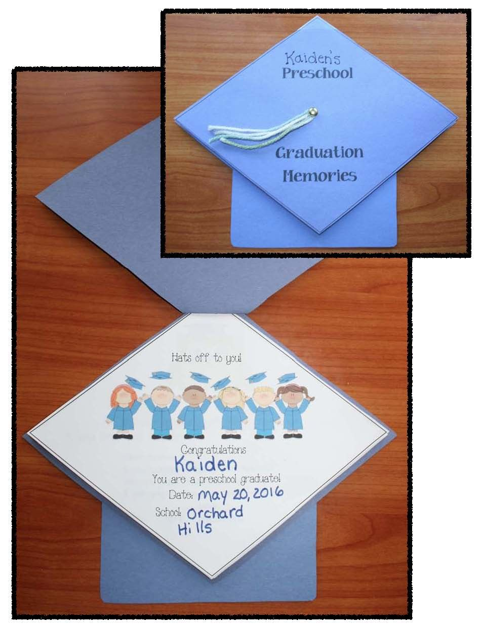 Preschool Kindergarten Graduation Activities Preschool