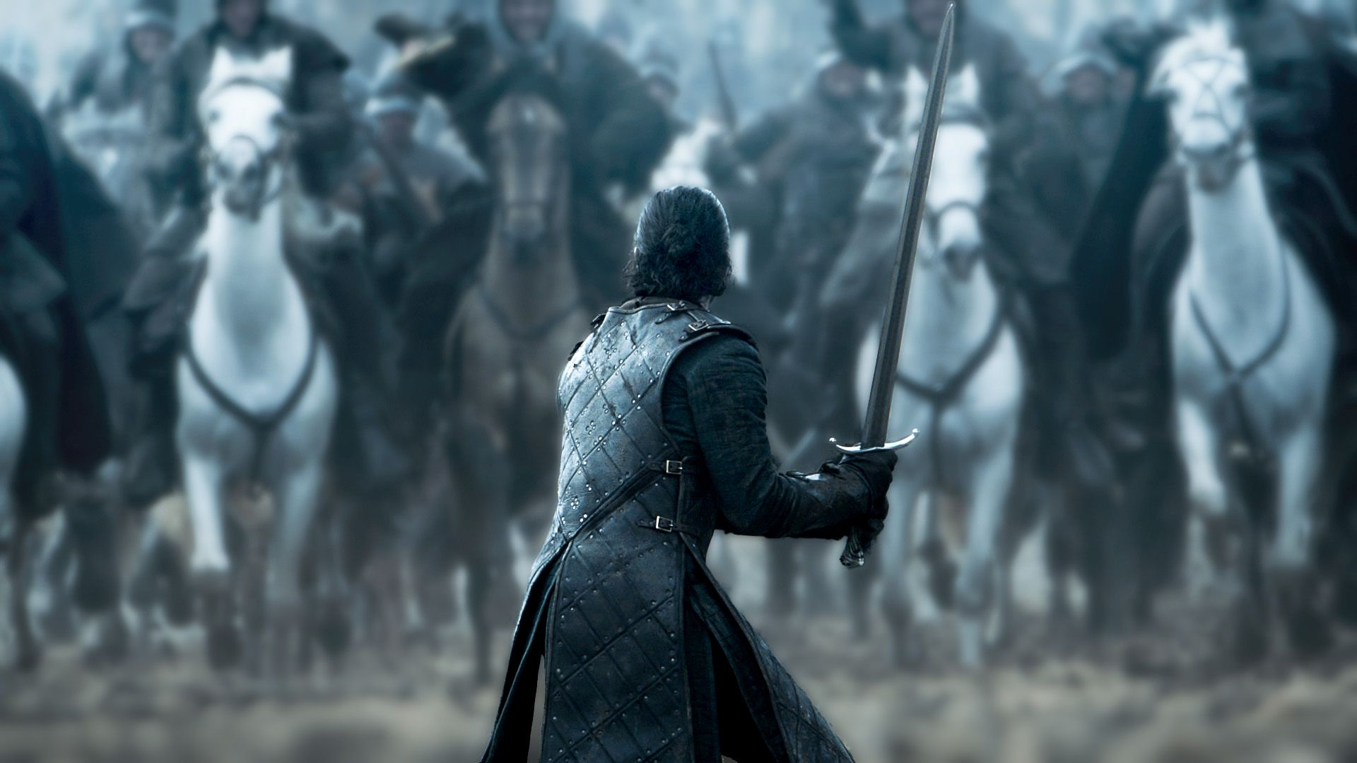 1920x1080 Jon Snow Screen Shot From S06e09 Game Of Thrones Enhanced Image R Wallpapers Snow Wallpaper Hd Game Of Thrones Art Android Wallpaper