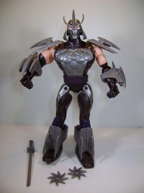 2012 Tmnt Teenage Mutant Ninja Turtles Shredder Action Figure