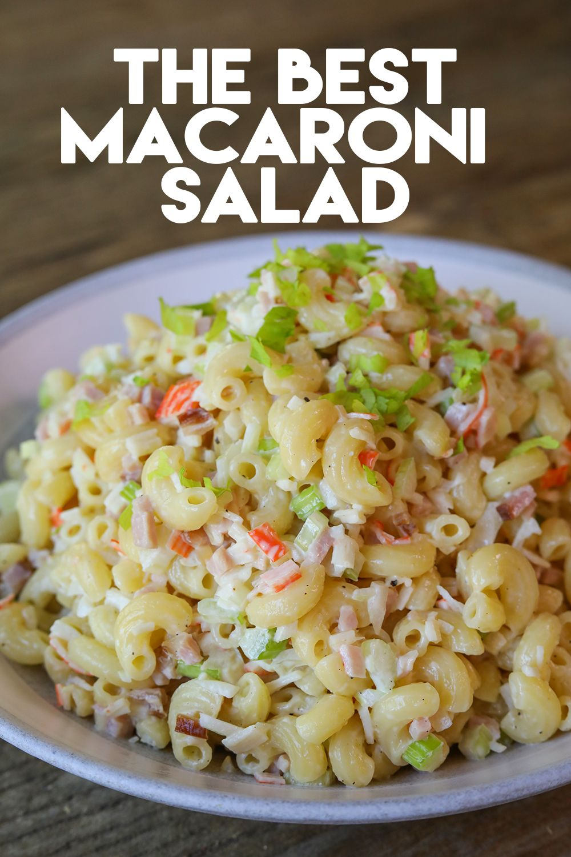 Photo of The BEST Macaroni Salad Recipe & Video – Seonkyoung Longest