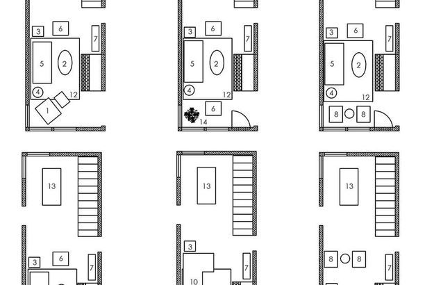 How to lay out  narrow living room also genius solutions for layout problems decorating rh pinterest