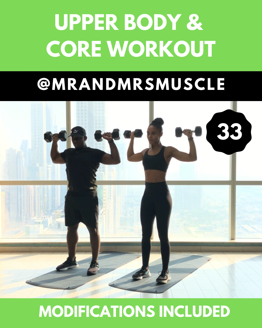 Upper Body & Core HIIT Workout