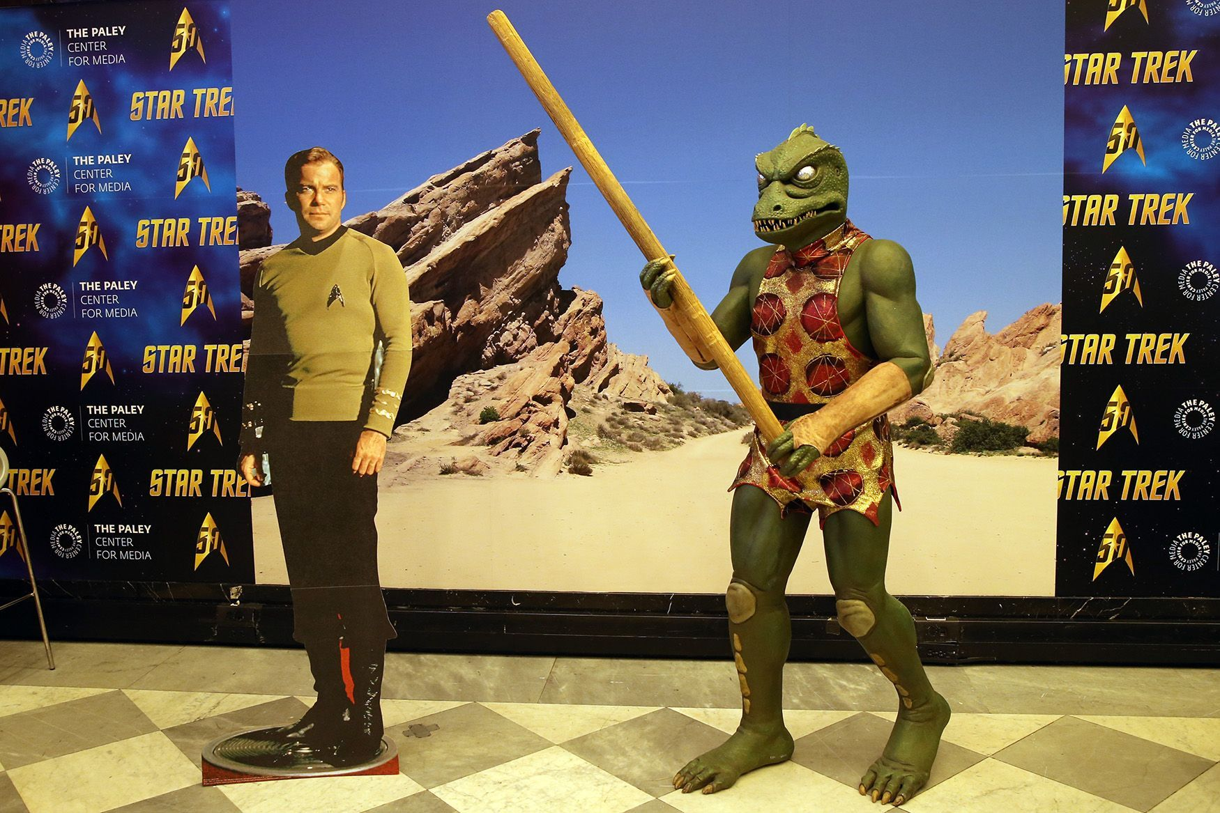 'Star Trek' 50th anniversary exhibit