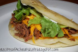 Recipes of a Cheapskate: Shredded Beef Tacos