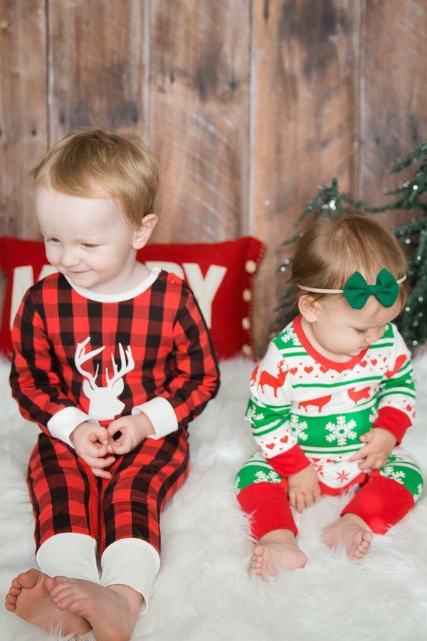 3b05230095 The perfect Christmas PJ s for your Little Ones! You will love the look and  feel of these adorable PJ s!