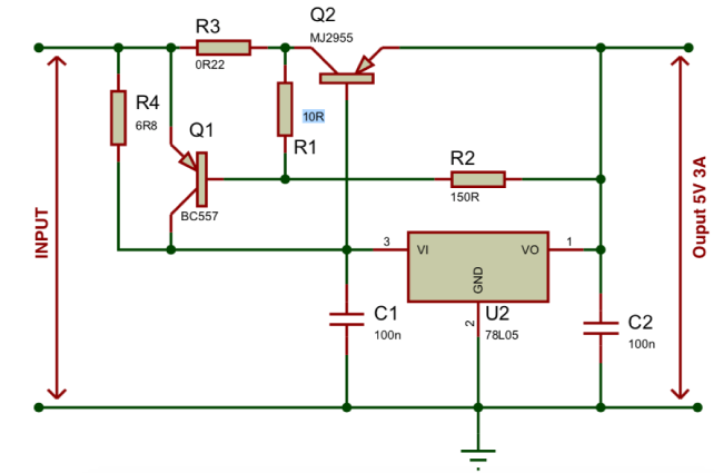 Voltage Regulator Circuit Diagram Voltage Regulator Circuit Circuit Diagram