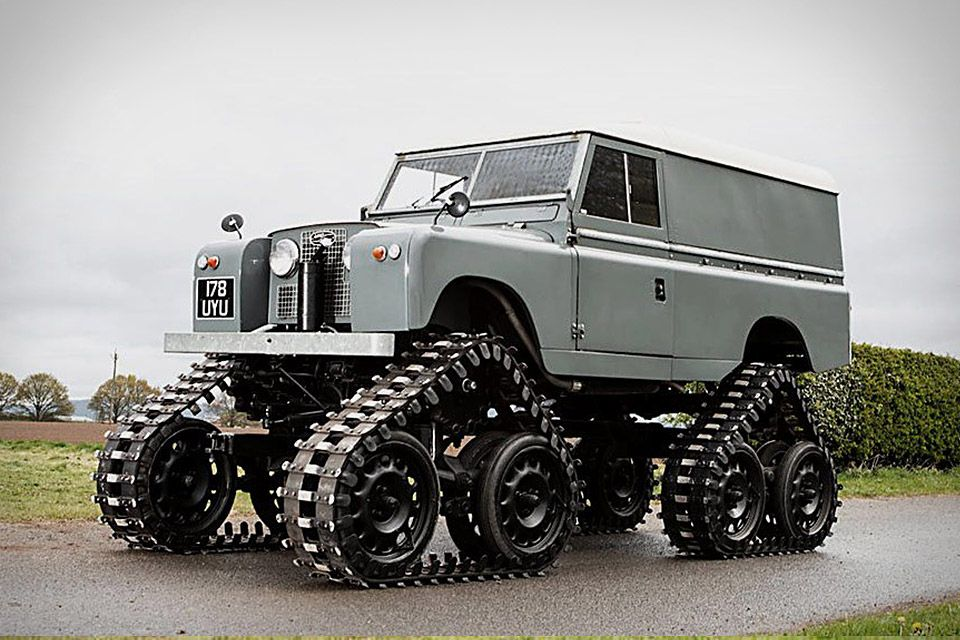 1958 Land Rover 109 Series 2 Cuthbertson Land rover