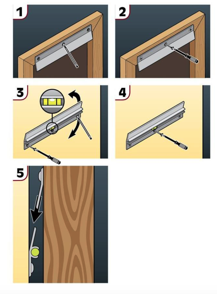 Lowes Picture Hangers : lowes, picture, hangers, Hillman, 18-in, Hanging, System, 200lb, Lowes.com, Picture, Hanging,, Mirror