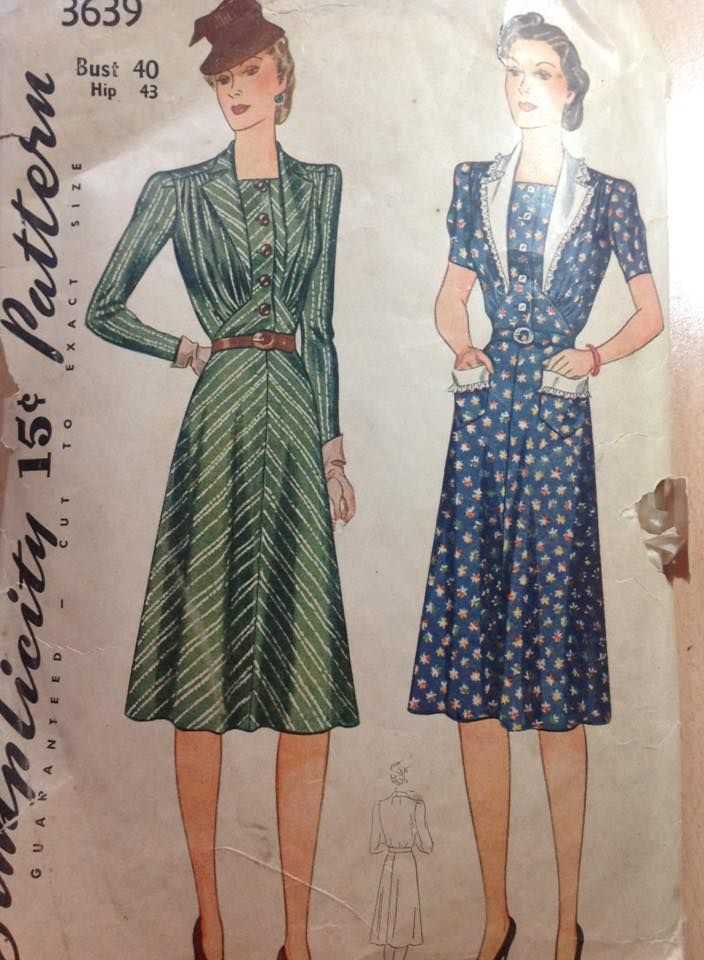 Pin by Time Machine Vintage Reproduction Clothing on 1940s fashion ...