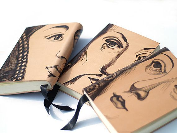 I'm on the search for a blank book... and this is ideal <3