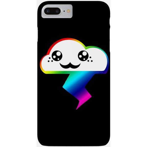 Rainbow Phone Case (33 AUD) ❤ liked on Polyvore featuring accessories, tech accessories, phone, phone cases, case and cell phone case