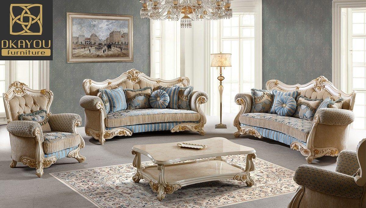 Set Sofa Ruang Tamu Mewah Terbaru Jepara Catarina   Furniture ...
