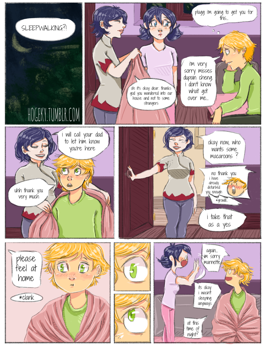 Unreceived PAGE 48 [part 6 - start] by Hogekys