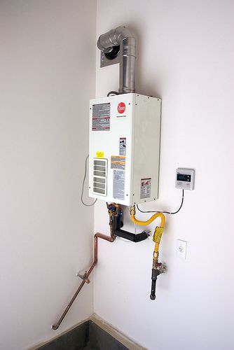 Tankless Water Heater Instant Hot Water No Waiting No Out Of Hot Water With Images Tankless Water Heater Gas Water Heater Tankless Water Heater