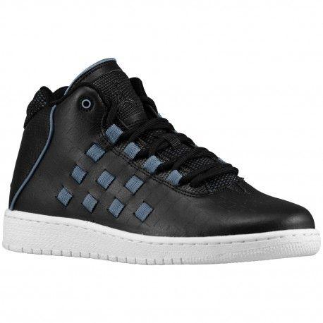 Back Jordan Illusion Men Basketball Shoes Black Black Blue Graphite