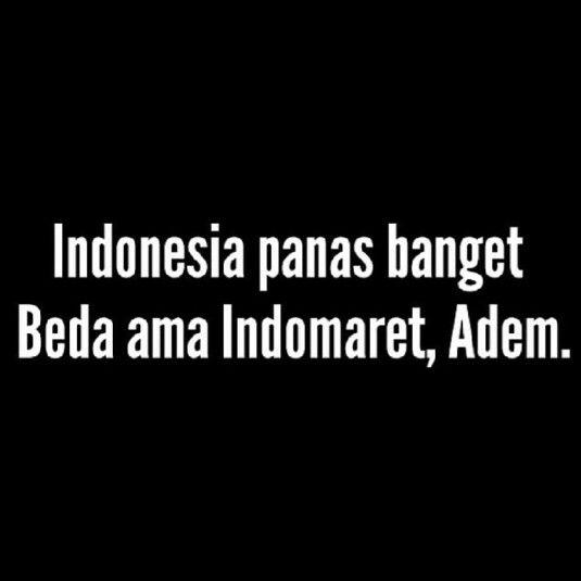 Indonesia Beda Dgn Indomaret Ungkapan Lucu Kutipan Humor
