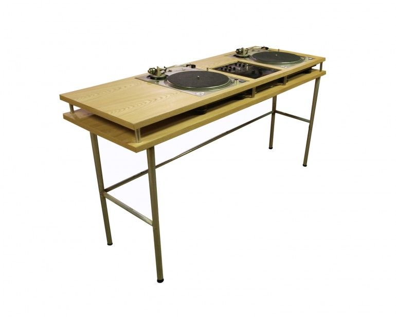 wood nik dj table now that is a clever design food drink that i love pinterest dj table. Black Bedroom Furniture Sets. Home Design Ideas