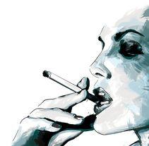 Women Ilustraciones Realizadas Con Tecnica Mixta Dibujo A Mano Alzada Y Digital Painting Un Proyecto De Tttamara Domestika Dibujos A Mano Alzada Manos Dibujo Ilustraciones