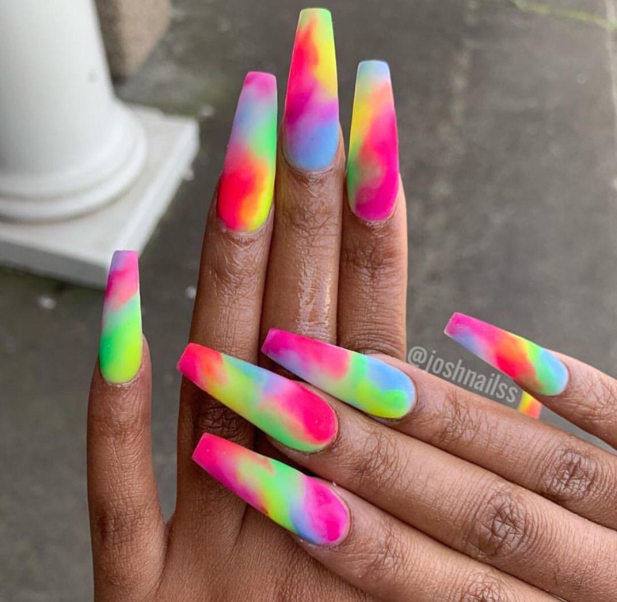 Pin by autumn 💕 on nails | Trendy nails, Cute acrylic nails, Long nails
