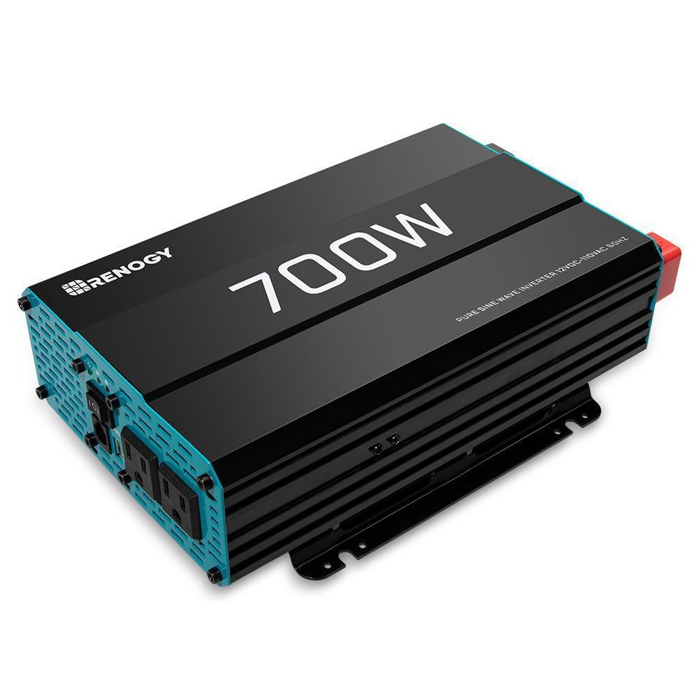 Renogy 700w 12v Pure Sine Wave Inverter Off Grid Batteries Sine Wave Solar Power Inverter