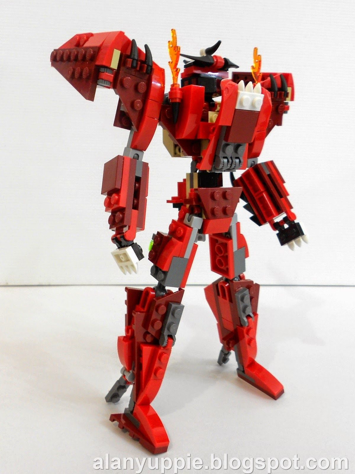 Alanyuppies Lego Transformers Lego 31032 Alternate Mode Infernus