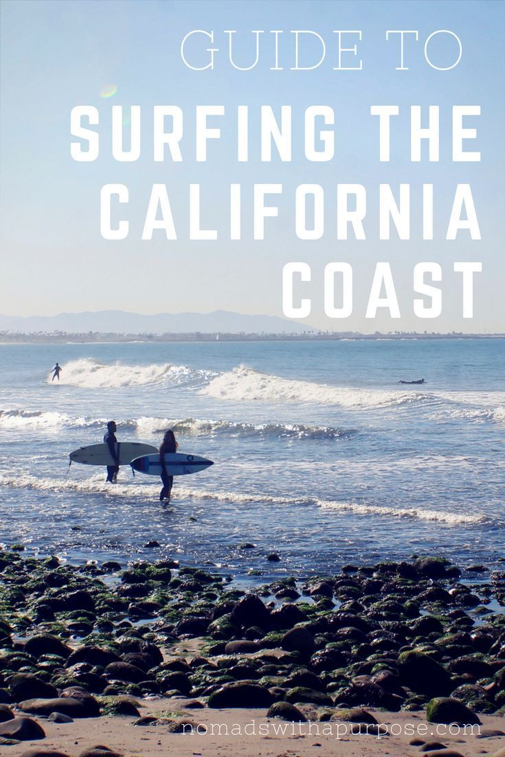 Guide to Surfing the California Coast || Surfing California || Surf Trip California || Best Surf Sp