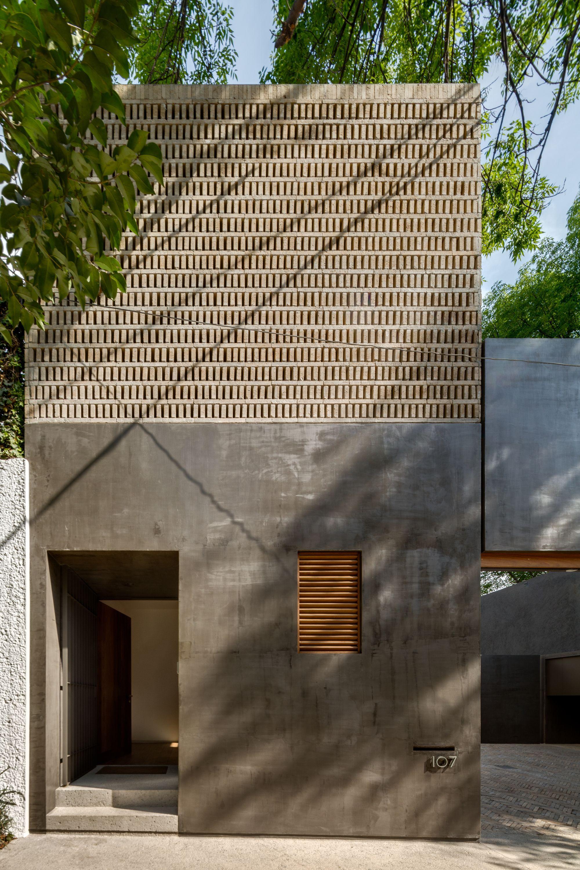 Gallery Of Campestre 107 House Dcpp Arquitectos 5 Brick