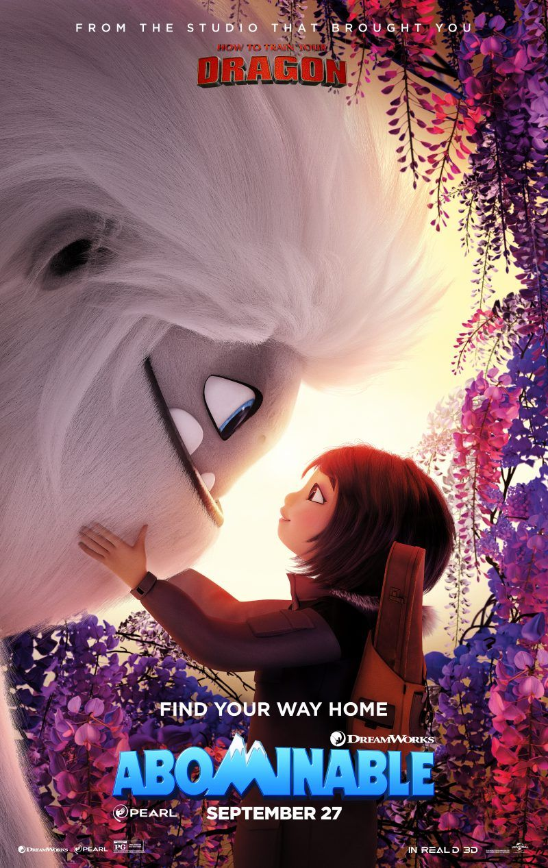 Abominable Watch The Trailer Full Movies Universal Pictures Dreamworks Animation