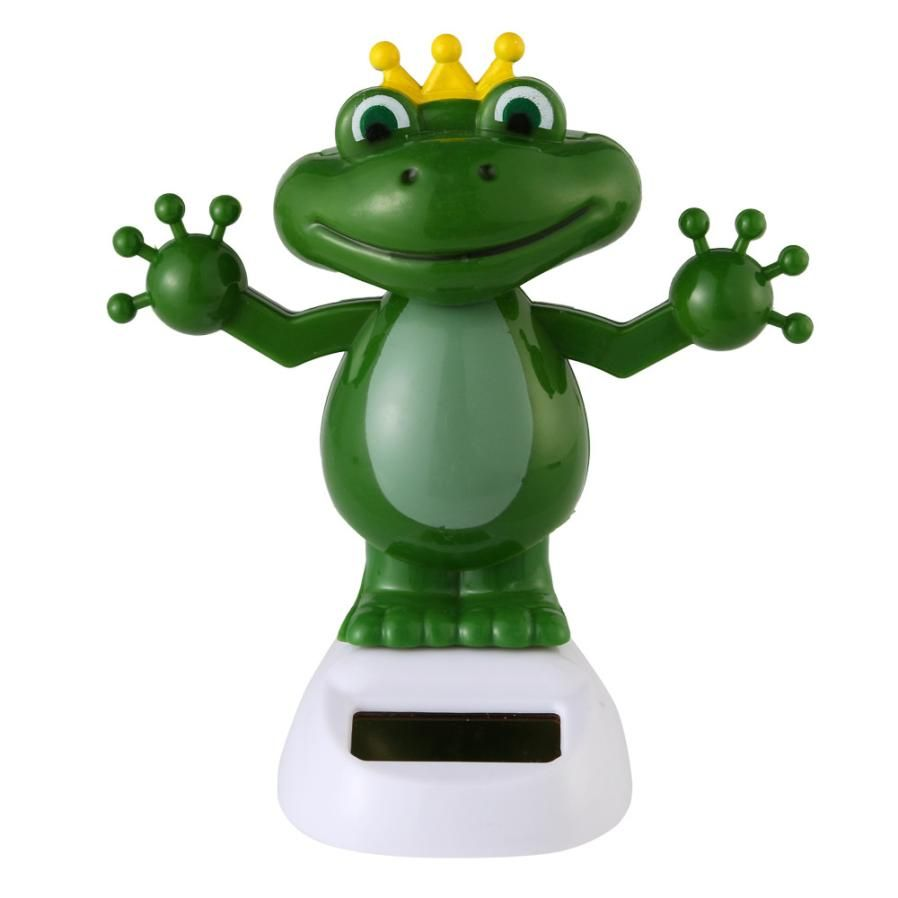 Car decoration toys  Carstyling Solar Powered Dancing Halloween Swinging Animated Bobble