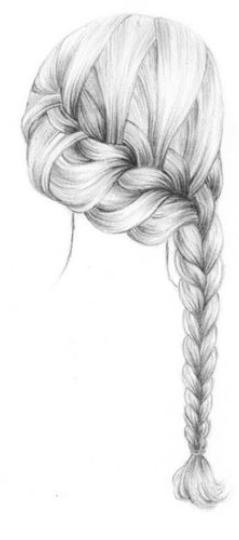 Flecht frisuren zeichnen