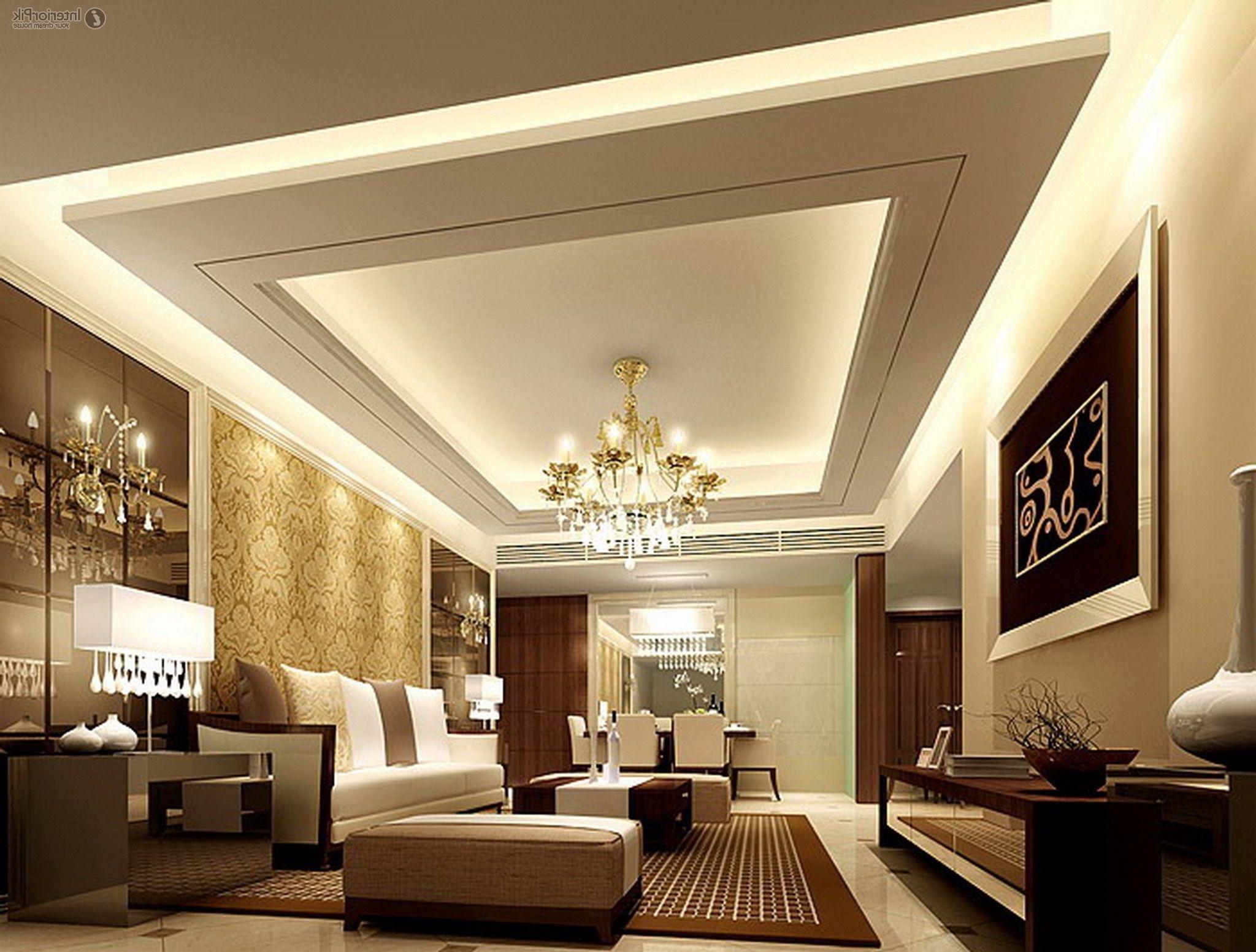 Living Room Interior False Ceiling Designs