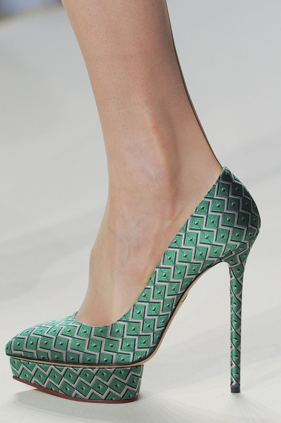 Charlotte Olympia for Temperley London Fall 2013