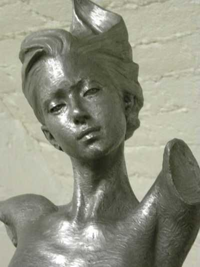 Bronze resin Garden Or Yard / Outside and Outdoor sculpture by