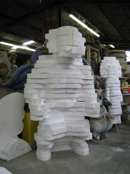 Styrofoam sculpting google search sculpture