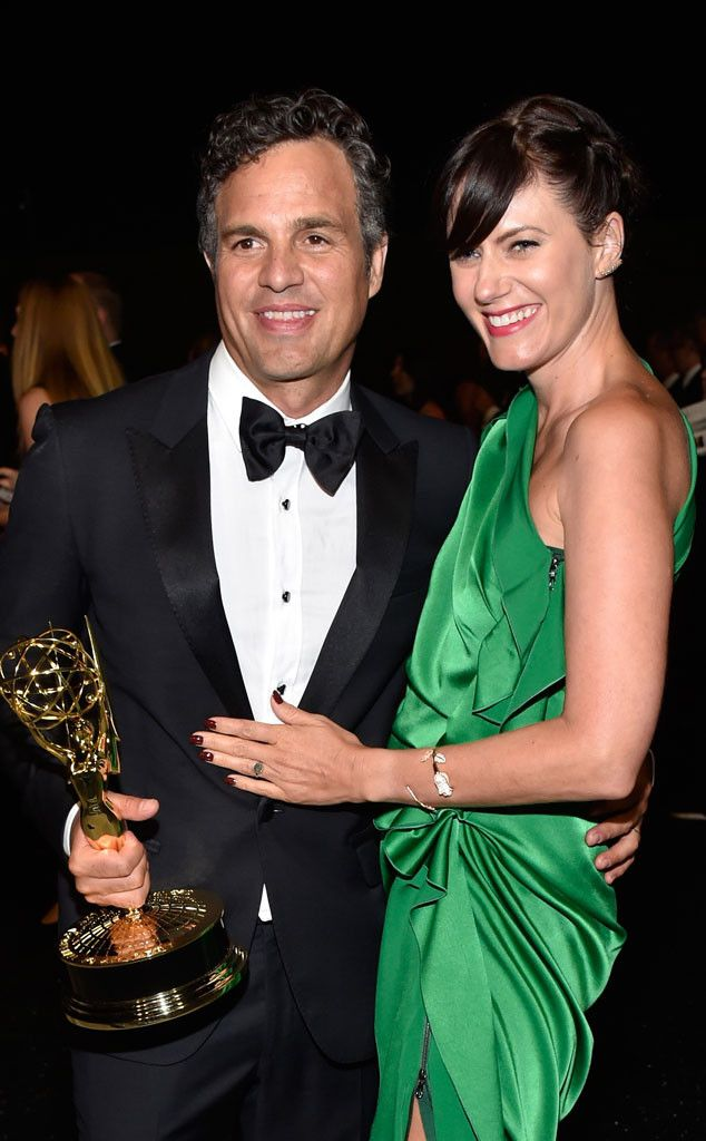 mark ruffalo sunny coigney from 2014 emmys party pics. Black Bedroom Furniture Sets. Home Design Ideas