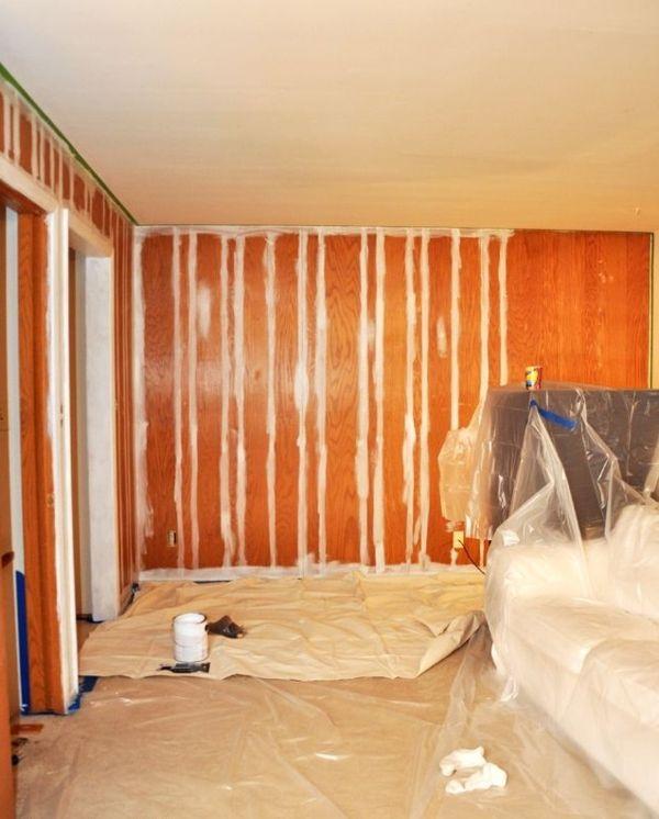 Wande Streichen Tipps Und Tricks Fur Fehlerfreies Wande Streichen Holzverkleidung Streichen Wande Streichen Holzpaneele