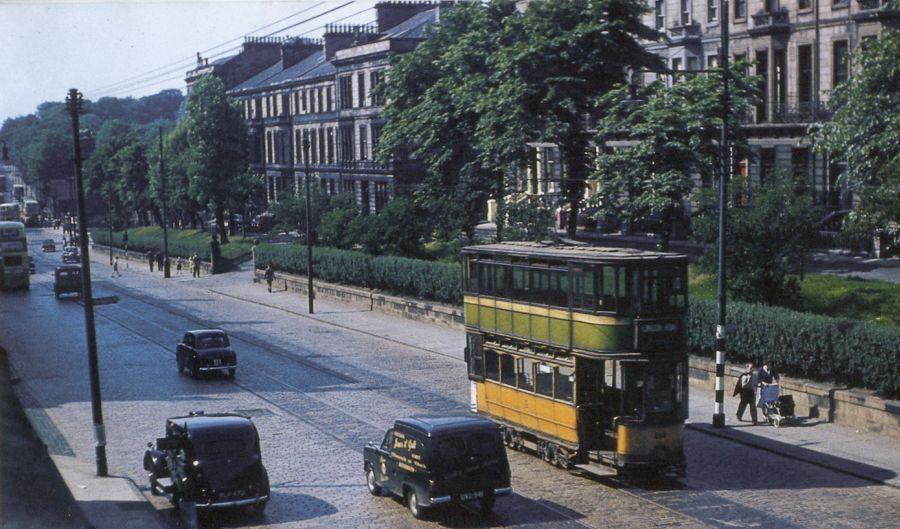 Great Western Road, Glasgow. (1959)