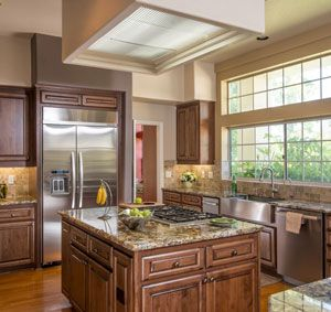 This Poway Kitchen Remodel Was Refaced With Cabinets From Oakcraft The Brockton Style Doors Are
