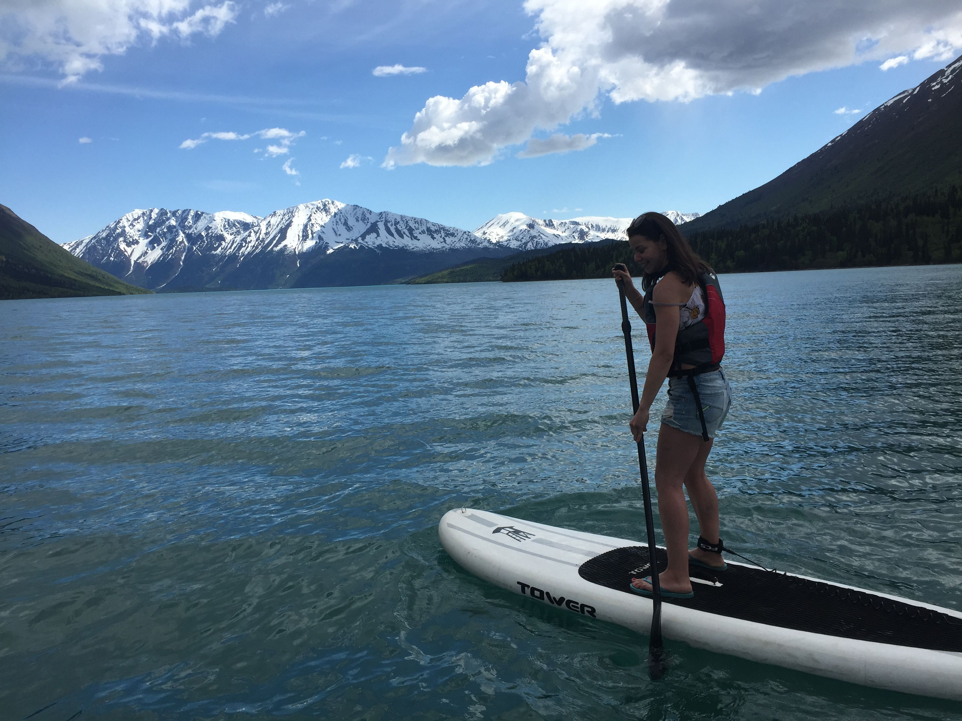 f0918b4ed happy SUP on Kenai Lake ~ good job for first attempt!