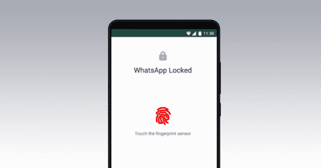 Lock WhatsApp App With Your Fingerprint, Face on Android