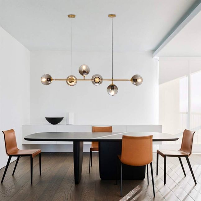 51 Linear Pendants and Chandeliers for Stylish, Perfectly