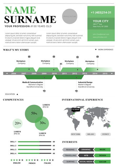 Top  Infographic Resume Templates  Resume